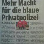 Ausschnitt Zeitung Österreich 7.7.2017 (OÖ-Teil)